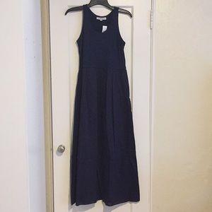 New Loft Navy Blue Maxi Dress!